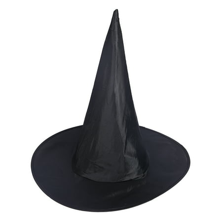 HDE Witch Hat Halloween Costume Cosplay Wicked Witch Accessory Adult One - Orange And Black Halloween Drink