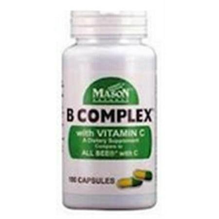 MASON NATURAL B Complexe de vitamine C 100 bis (Paquet de 6)