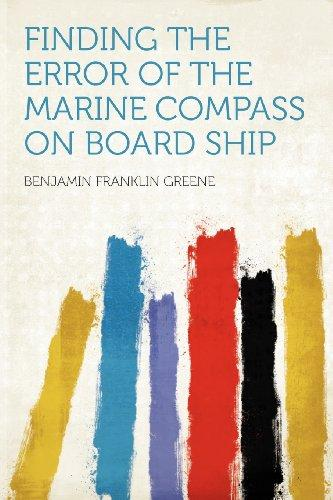 Click here to buy Finding the Error of the Marine Compass on Board Ship.