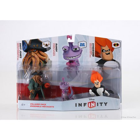 Disney Infinity Figure 3-Pack: Villains - Disney Villain Checks