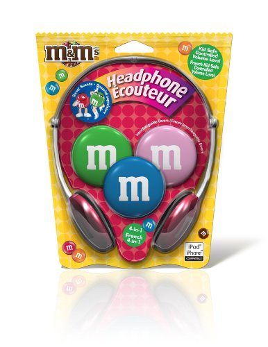 Maxell M&M Kids Safe 4 in1 Headphones (190570) by Maxell
