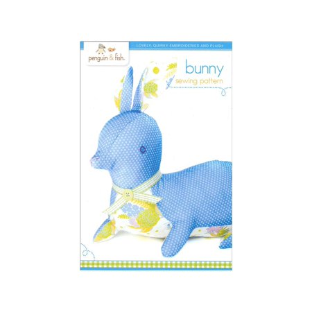 Pattern Bunny Hill Designs (Penguin & Fish Bunny Sewing Pattern )