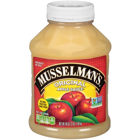 (2 Pack) Musselman's Original Apple Sauce 48 oz. Jar