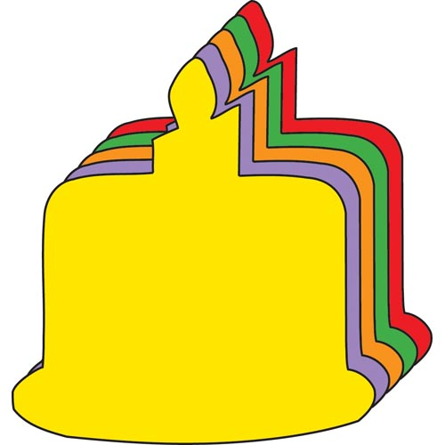 Creative Shapes Birthday Cake Cut-Outs