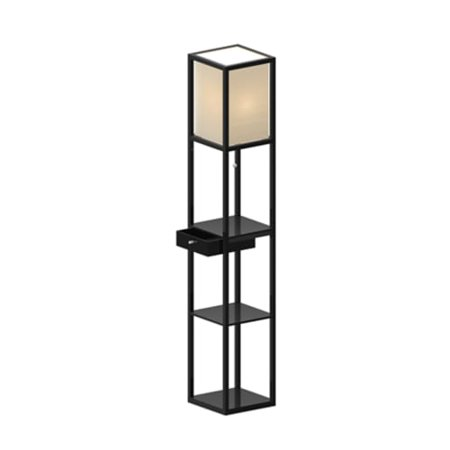 (Adesso 3133 Parker 1 Light Shelf Lamp with Drawer)