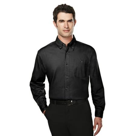Tri-Mountain Executive 810 Cotton Long Sleeve Twill Shirt, 2X-Large, -
