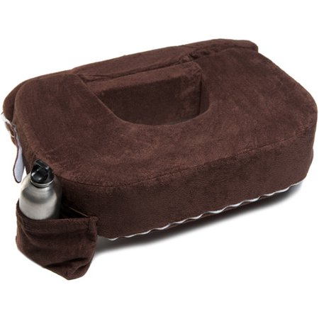 My Brest Friend Twin and Plus Size Nursing Pillow, Chocolate