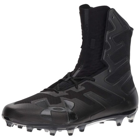 Under Armour Men's Highlight MC Football Shoe, (001)/Black, 10.5 - image 1 of 1