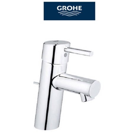 Grohe 34270001 Concetto Centerset Lavatory Faucet, Available in Various Colors - Grohe Eurosmart Centerset