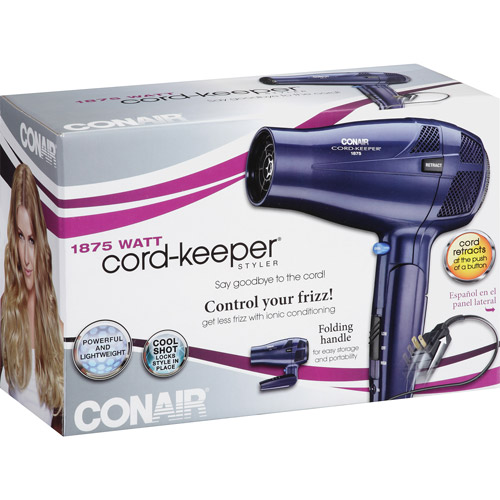 Conair 1875 Watt Cord-Keeper Stylizer, 289