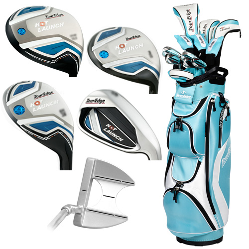 Tour Edge Golf Hot Launch Full Set 2016 Womens