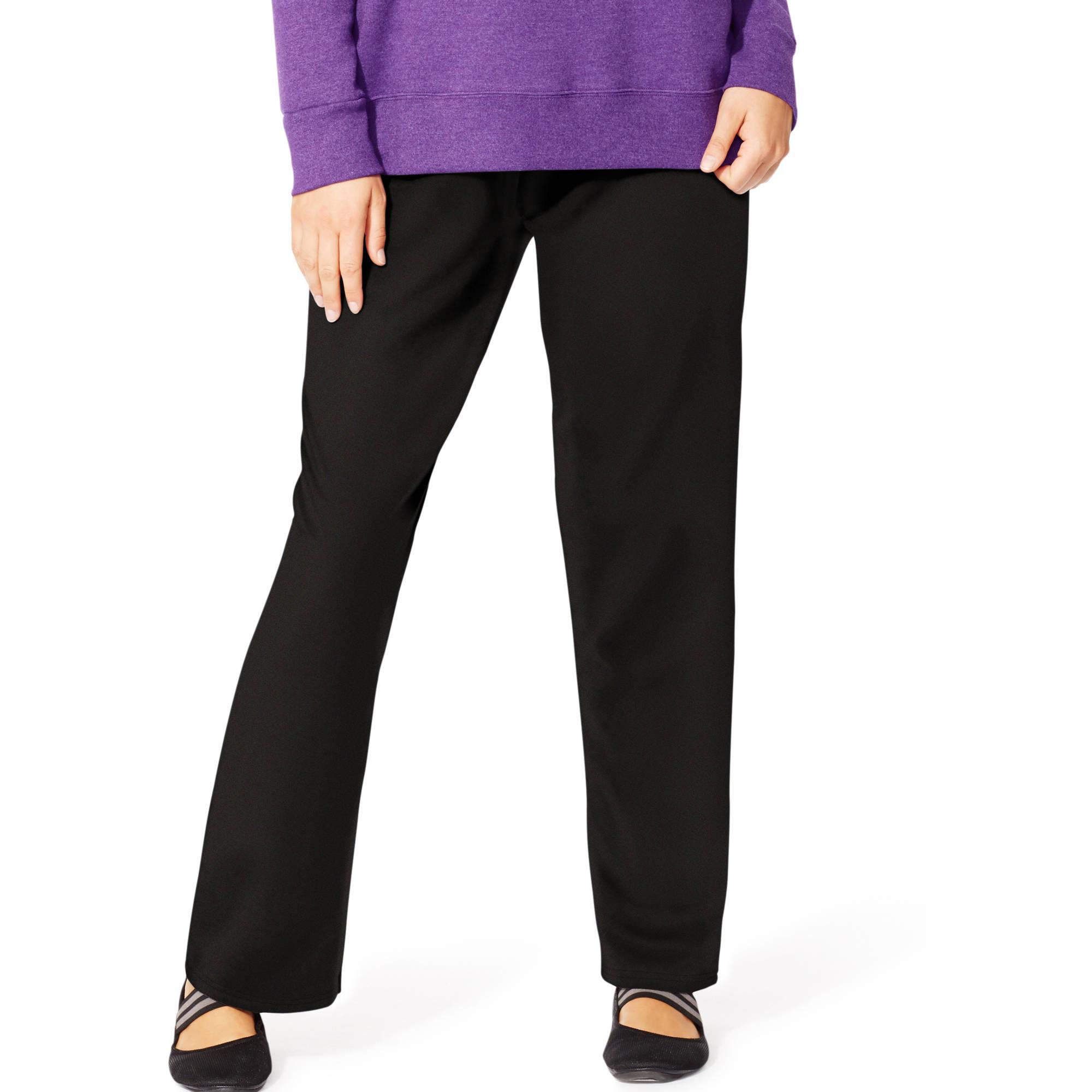 Just My Size Women's Plus-Size Fleece Sweatpants, Petite