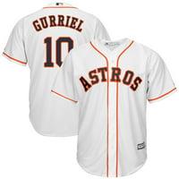 Yuli Gurriel   Houston Astros Majestic Cool Base Home Player Jersey - White