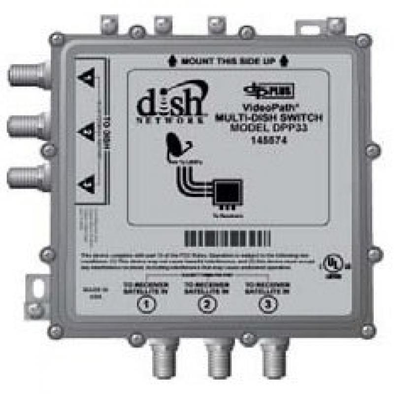 DISH NETWORK Videopath Dish Pro Plus 33 Multi-dish Switch...