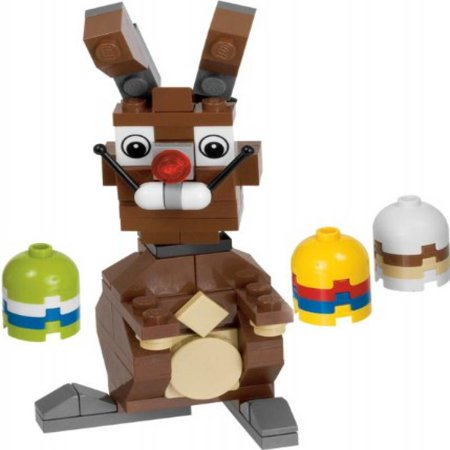 Lego Easter Eggs (LEGO Easter Bunny with Eggs)
