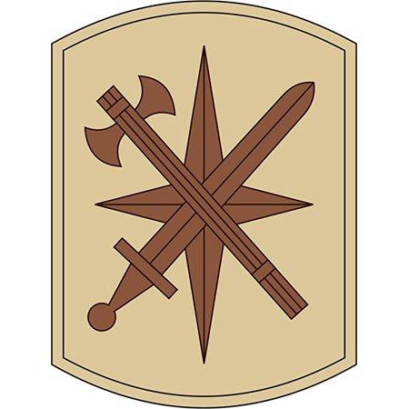 14th Military Police Brigade Desert Camo 11.75 Inch Decal