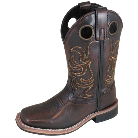 Classic Tall Boot Chocolate (smoky mountain boys' chocolate landry pull on boot square toe - 3722c )