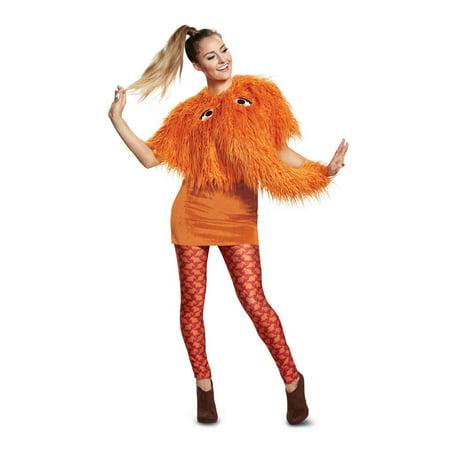 Sesame Street Snuffy Ladies Deluxe Adult Halloween Costume](Sesame Street Baby Halloween Costumes)