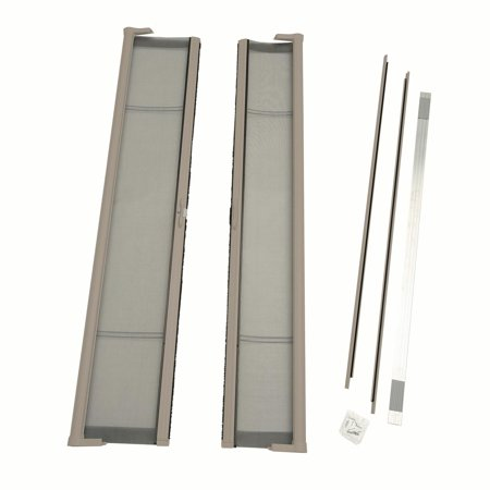 Sandstone Screen (ODL Brisa Standard Double Door Single Pack Retractable Screen for 80