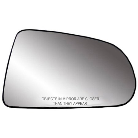 "80251 - Fit System Passenger Side Non-heated Mirror Glass w/ backing plate, Dodge Durango 05-07, Dakota 05-10, 5 1/ 16"" x 8 3/ 8"" x 8 7/ 16"" (non-foldaway mirrors, 5x7)"