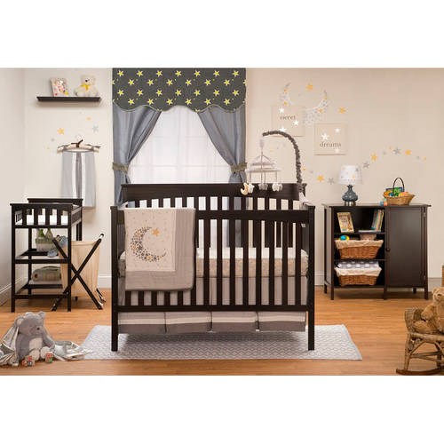 Sorelle Petite Paradise Elite 4-in-1 Crib, Changing Table and Organizer Storage Unit, Choose Your Finish by Sorelle Furniture