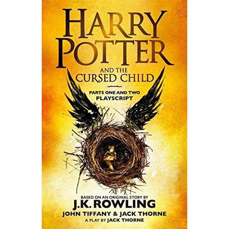HARRY POTTER & THE CURSED CHILD PART 1&2 - Harry Potter Quidditch Broom