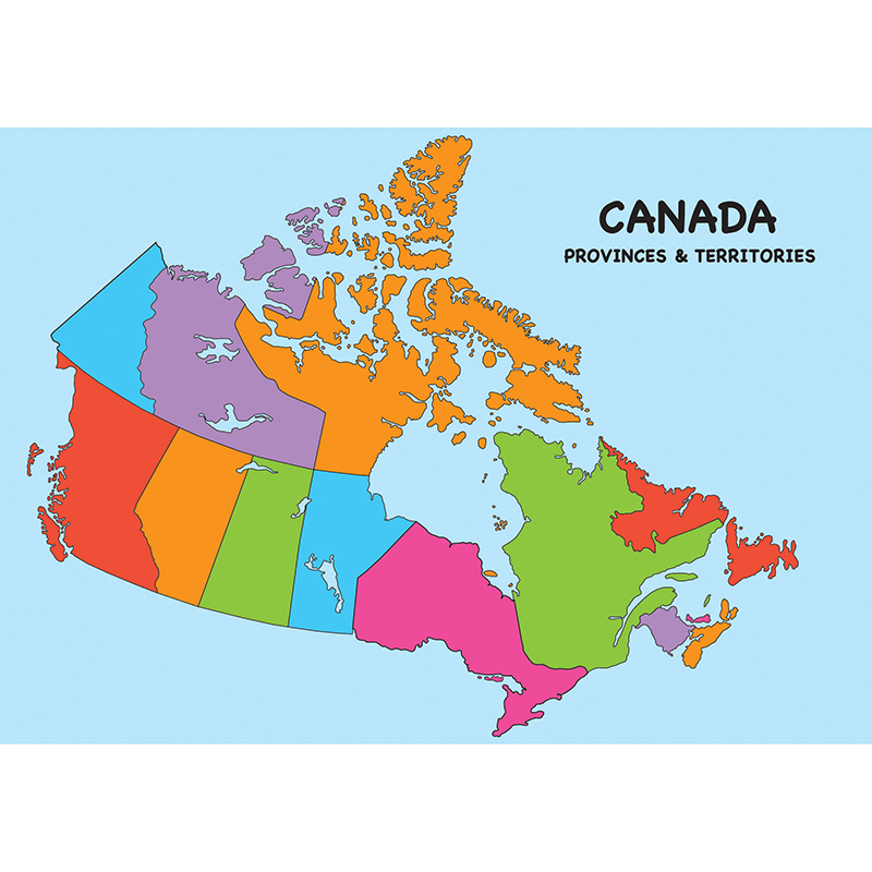 Magnetic Canada Map Chart Write On - image 1 de 1