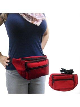 66c1e497eee759 Product Image Waist Fanny Pack Adjustable Belt Bag Pouch Travel Sports Hip  Purse Nylon Secure