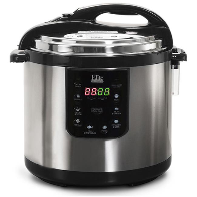 Elite EPC-1013 Platinum 10 Qt Electric Pressure Cooker