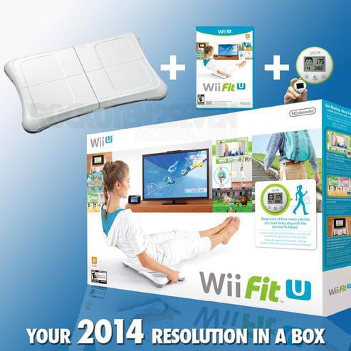 Nintendo Wii Fit U with Wii U Balance Board