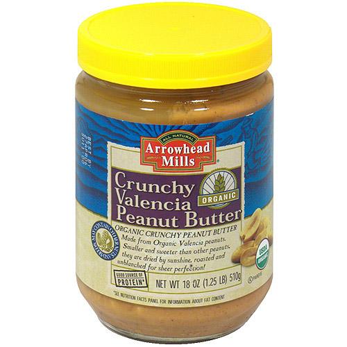 Arrowhead Mills Organic Peanut Butter, 16 oz (Pack of 12)
