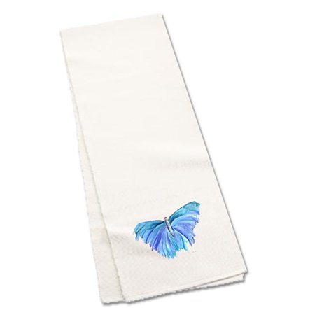 Carolines Treasures 8855TR60 60 in. Blue Butterfly Table Runner - image 1 de 1