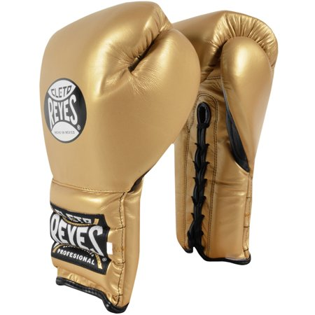 Cleto Reyes Traditional Lace Up Training Boxing Gloves - Solid