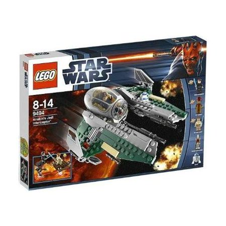 Lego Star Wars Revenge Of The Sith Anakins Jedi Interceptor