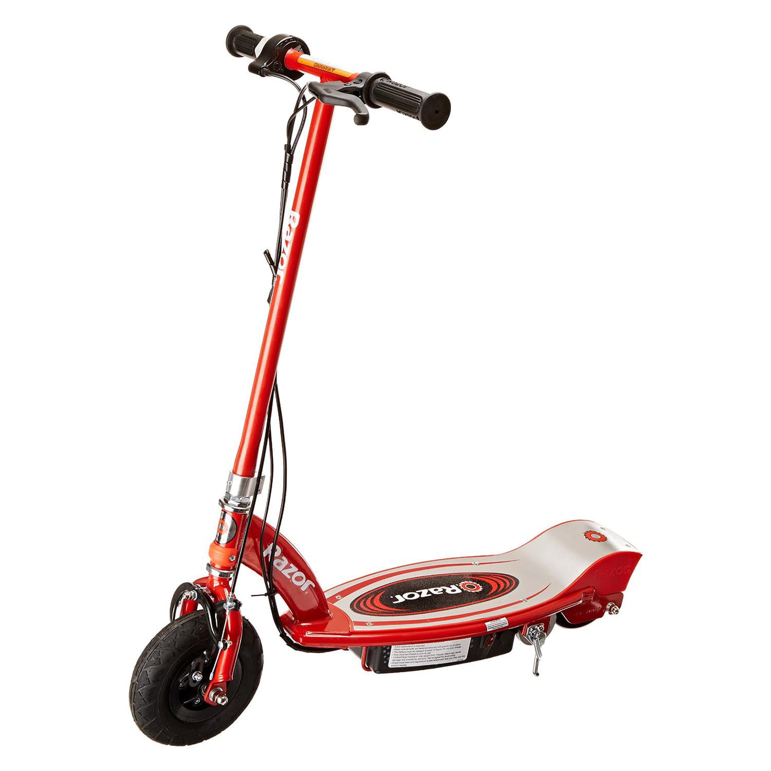 Razor E100 Motorized 24 Volt Battery Electric Powered Kids Ride-On Scooter, Red by Razor