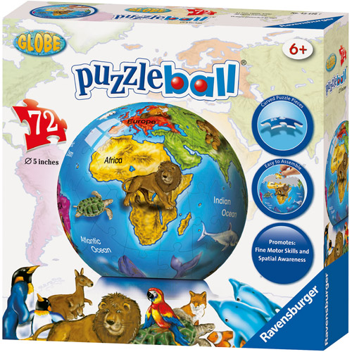Ravensburger World Globe Puzzleball