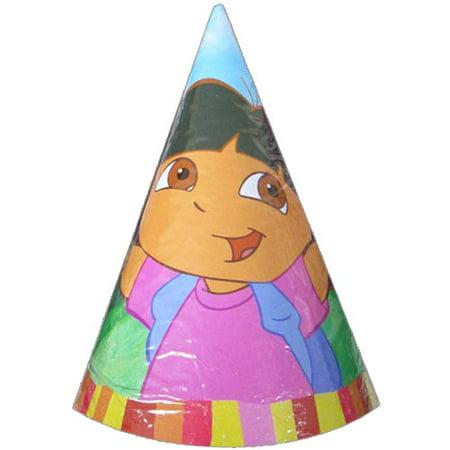 Dora the Explorer 'Fiesta' Cone Hats (8ct)](Fiesta Hat)
