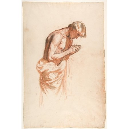 Study For Clovis  Middle Register Study For Wall Paintings In The Chapel Of Saint Remi Sainte Clotilde Paris 1858  Poster Print By Isidore Pils  French Paris 181315   1875 Douarnenez   18 X 24