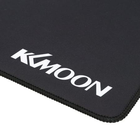 Kkmoon 700 300 2mm Large Size Plain Black Extended Water