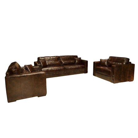 Elements Top Grain Leather Saddle Including Sofa Standard Chairs