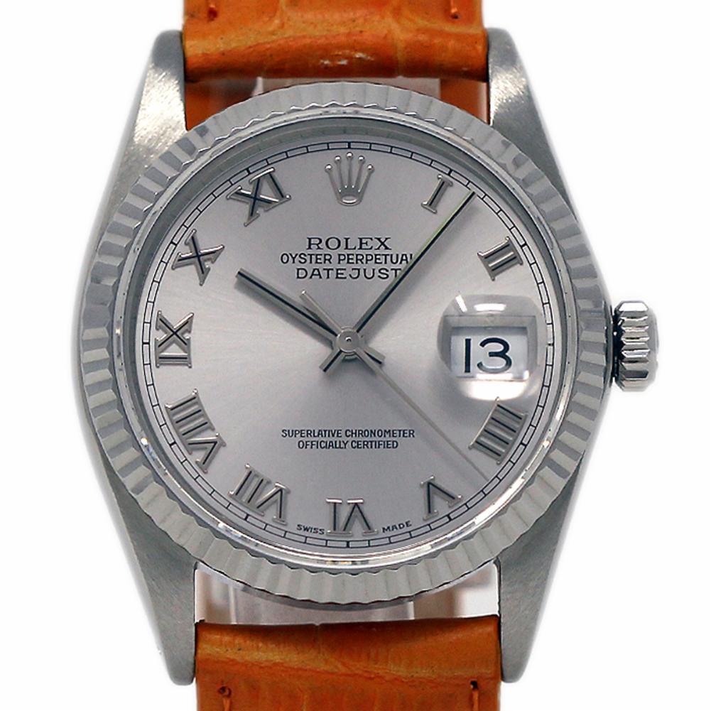 Pre-Owned Rolex Datejust 16234 Steel  Watch (Certified Authentic & Warranty)