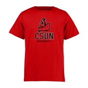 Cal State Northridge Matadors Youth Classic Primary T-Shirt - Red