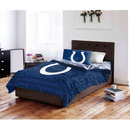 Nfl Indianapolis Colts Bed In A Bag, Indianapolis Colts Twin Bedding
