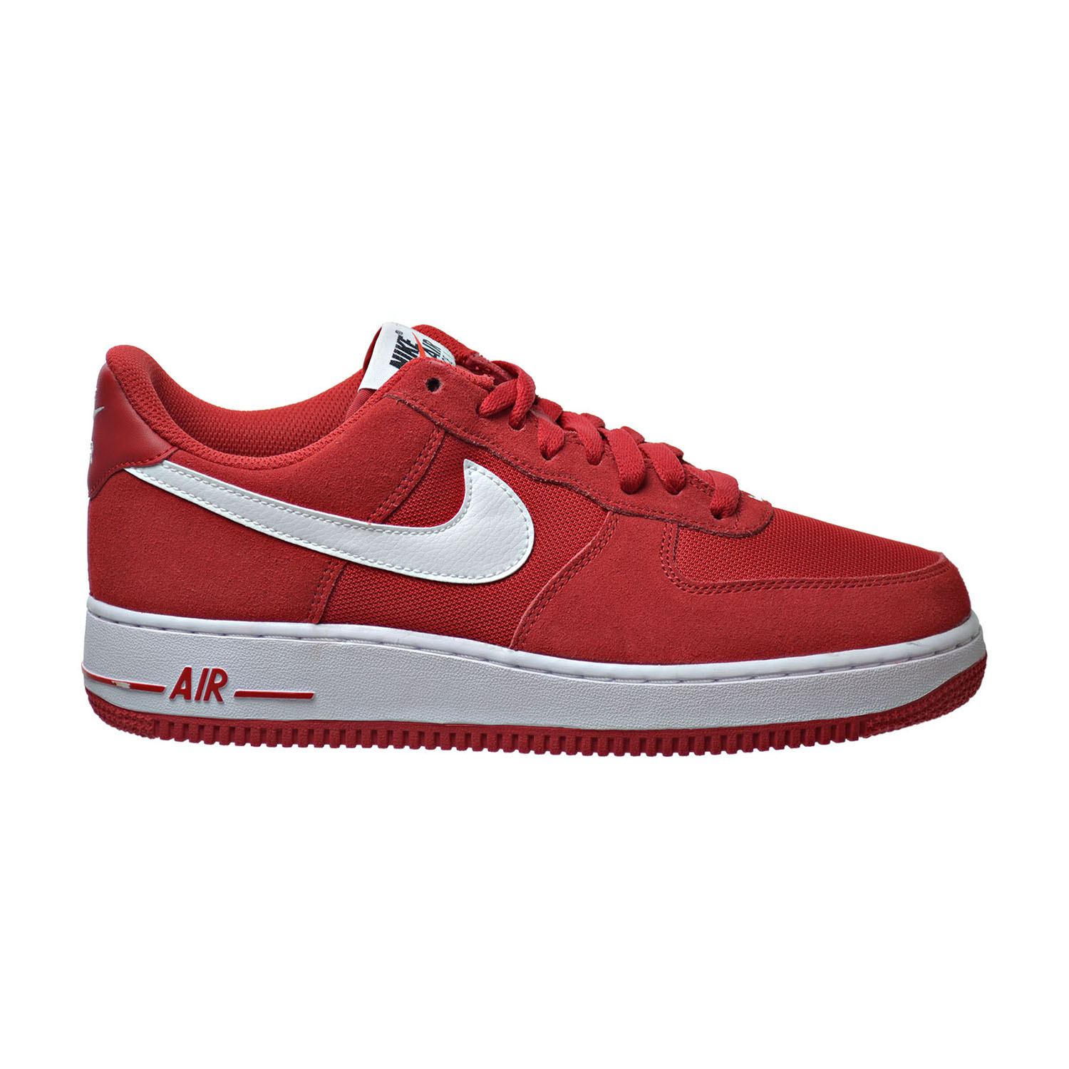 well wreapped Nike Air Force 1 Men's Shoes Game Red/White 820266 601