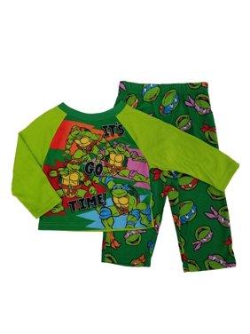 Teenage Mutant Ninja Turtles Toddler Boys Go Time Long Sleeve Pajama Sleep Set