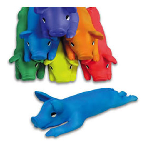 Color My Class Rubber Pigs - Set of 6