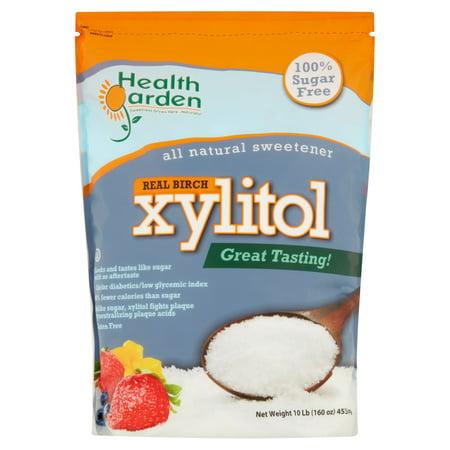 Xylitol Sweetener (Health Garden Real Birch Xylitol, 10 Lb )