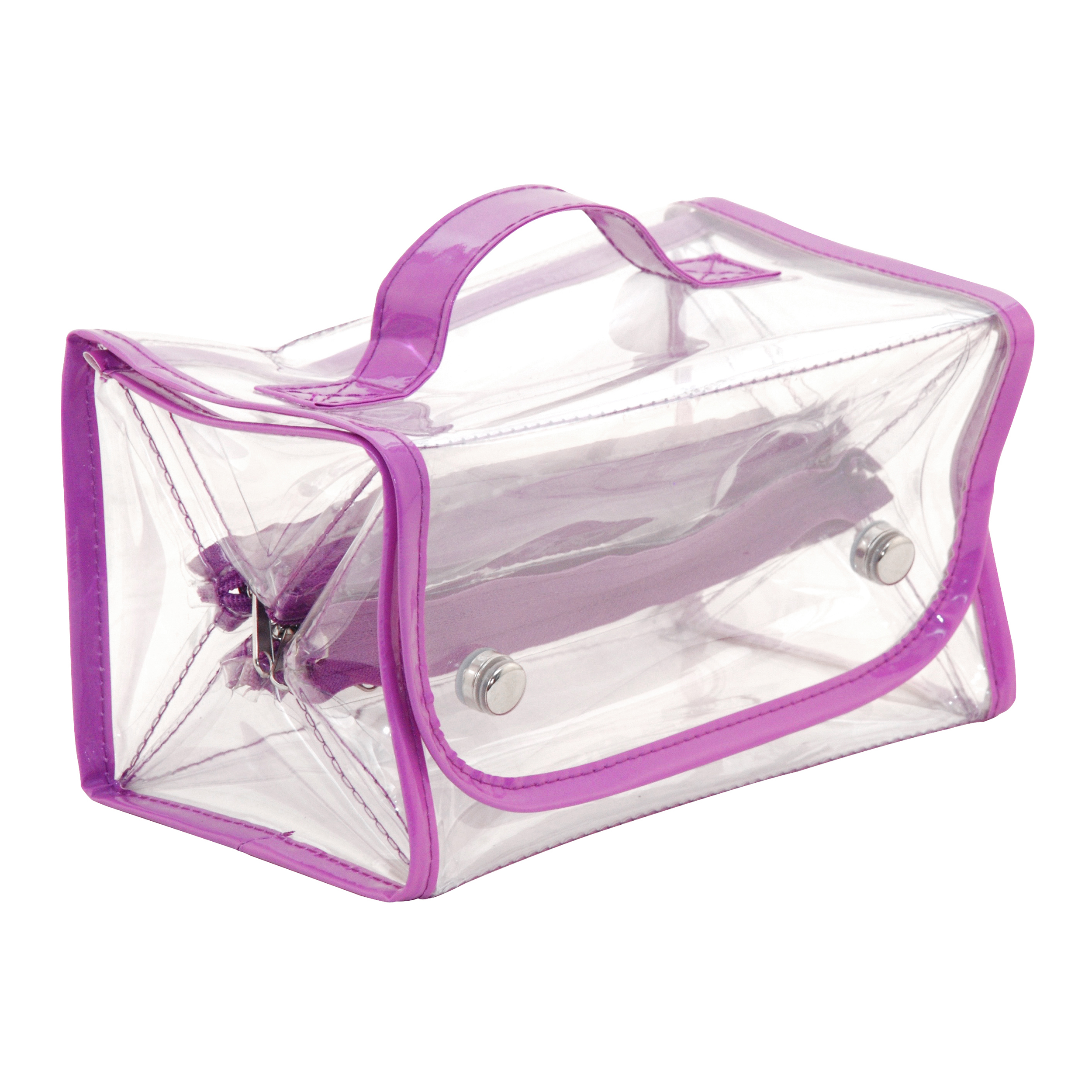 Everything Mary Clear Roll-Up Organizer, 1 Each