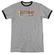 Fast Times at Ridgemont High Distressed Logo Mens Adult Heather Ringer Shirt