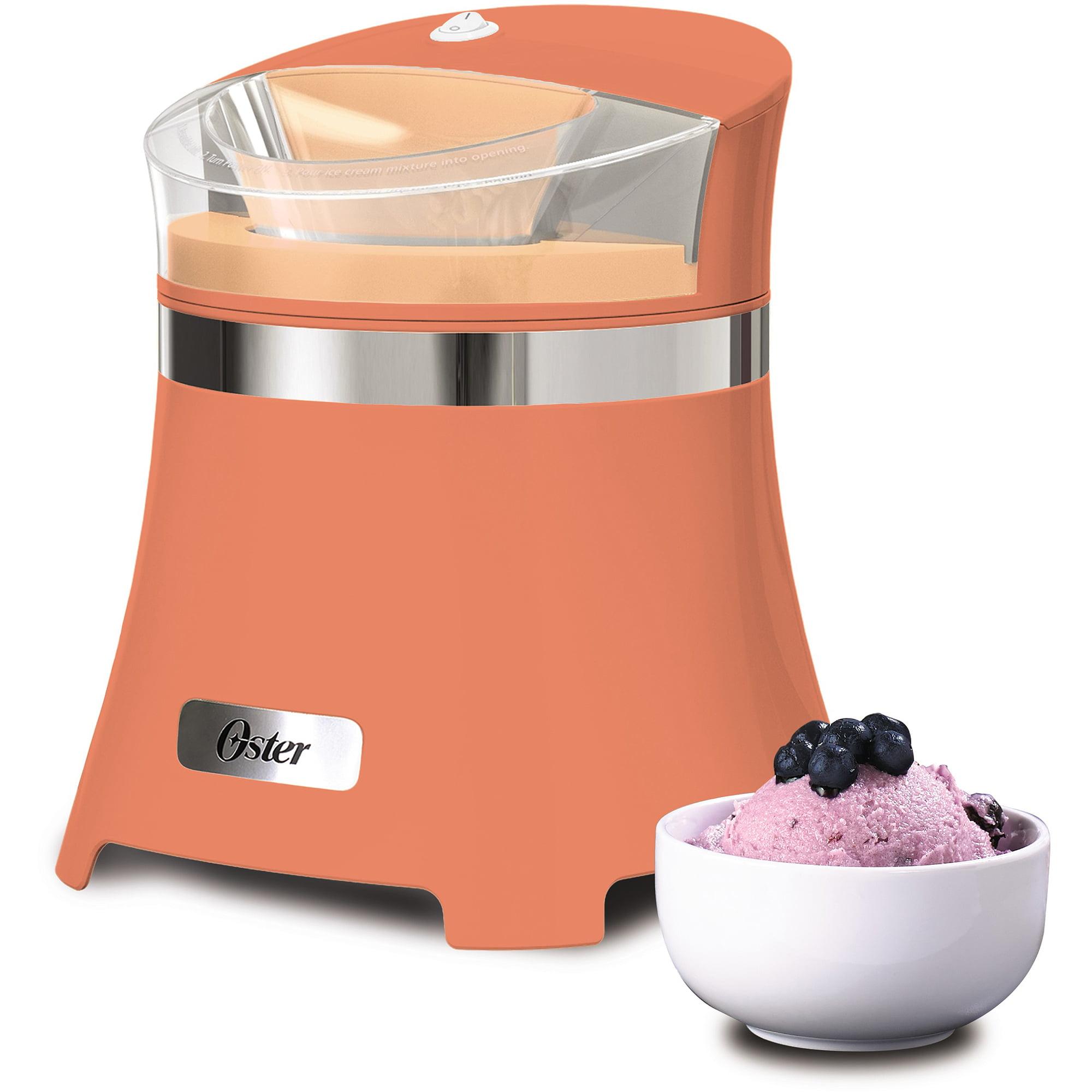 oster 1 5 qt gel canister ice cream maker walmart com rh walmart com oster ice cream maker attachment manual oster ice cream maker manual